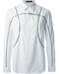 Givenchy Zip Through Shirt - Lyst