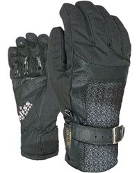 Level - Bliss Gem Dark Ski Gloves - Lyst