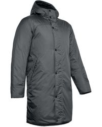 Under Armour Team Insulated Bench Coat - Black