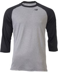 New Balance 3/4 Raglan Shirt - Black