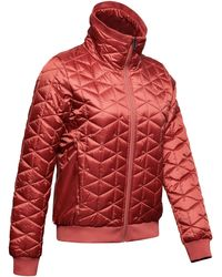 Under Armour Women's Coldgear® Reactor Performance Jacket - Red