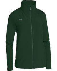 Under Armour Team Squad Woven Warm Up Jacket - Green
