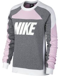 Nike Sport Distort Fleece Crew - Multicolor