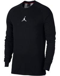 90824792 Nike Jordan 23 Alpha Long Sleeve Shirt in Black for Men - Lyst