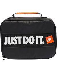 Nike Jdi Bumper Sticker Lunch Bag - Black