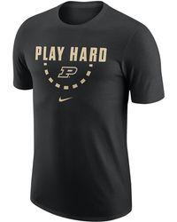 1a2077e0 Purdue Boilermakers College Team Cotton T-shirt