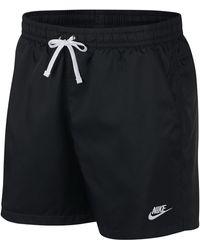 Nike Club Essentials Woven Flow Shorts - Black