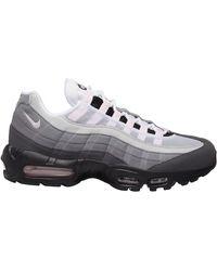 Nike Air Max 95 Gunsmoke Pink Foam In Gray For Men Lyst