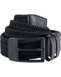 Under Armour Braided 2.0 Golf Belt - Black