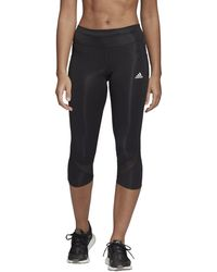adidas Own The Run 3/4 Tights - Black