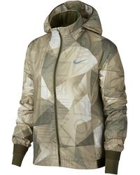 Nike - Shield Pr Fl Hooded Jacket - Lyst