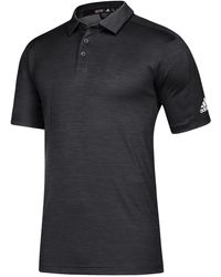 adidas Team Game Mode Polo Shirt - Black