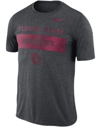 Nike College Legend Lift T-shirt - Gray
