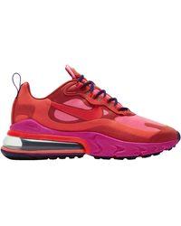 Nike Air Max 270 React Shoe - Red