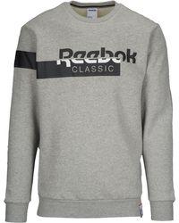 Reebok Classic Fleece Crew Sweatshirt - Gray