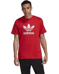 adidas Originals - Trefoil T-shirt - Lyst