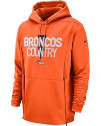ab6dd919 Denver Broncos Nfl Sideline Local Player Fleece Hoodie