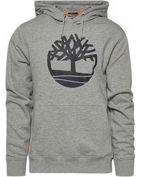 Timberland Core Tree Logo Hoodie - Gray
