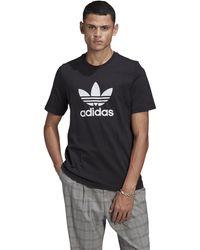 adidas Originals - Adicolor Trefoil Short Sleeve T-shirt - Lyst