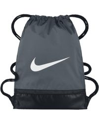 Nike Brasilia Gymsack - Gray
