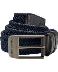 Under Armour Men's Ua Braided Belt 2.0 - Blue