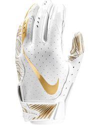 Nike Vapor Jet 5.0 Football Gloves - White
