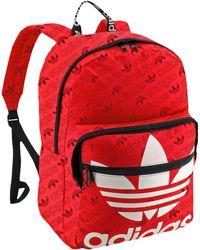 adidas Originals - Trefoil Pocket Backpack - Lyst