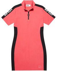 Fila X Vfiles Licia Dress - Pink