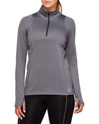 Asics Thermopolis Winter 1/2 Zip - Gray