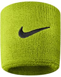 Nike Swoosh Wristbands - Green