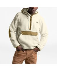 The North Face - Campshire Sherpa Pullover - Lyst