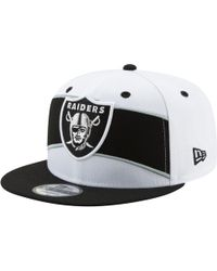 f7886408 KTZ 39thirty Cap Fitted Oakland Raiders in Black for Men - Lyst