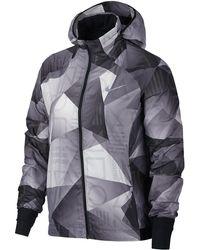 Nike - Shield Hooded Jacket - Lyst