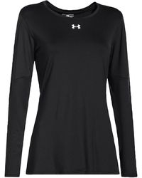 Under Armour Team Block Party Long Sleeve Jersey - Black