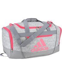 adidas Defender Iii Small Duffel Bag - Gray