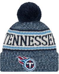 separation shoes 003f8 0ebc7 KTZ - Tennessee Titans Sport Knit Hat - Lyst