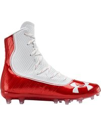 Under Armour Men's Ua Highlight Mc Football Cleats - Red