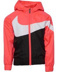 Nike Swoosh Windrunner - Red