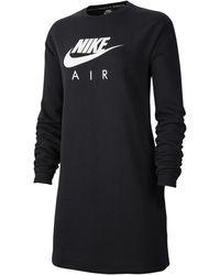 Nike - Air Crew Dress Brushed-back Fleece - Lyst