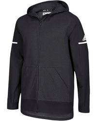 adidas Team Squad Jacket - Black