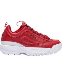 Fila - Disruptor Ii Premium Training Shoes - Lyst