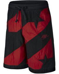 Nike Throwback Stars Shorts - Red