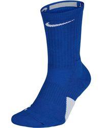 Nike Elite Crew Socks - Blue