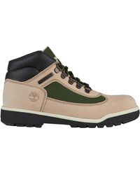 424546ce3ad Timberland Field Boot F/l Waterproof (grey Waterbuck) Men's Lace-up ...