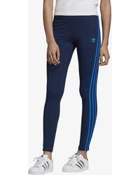 los angeles look for half price adidas Originals Cotton 'kauwela' Leggings in Black (White ...