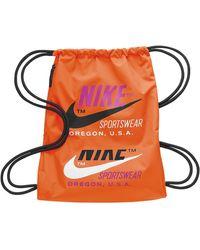 Nike Heritage Gymsack 2.0 Gfx - Orange