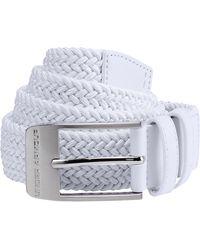 Under Armour Men's Ua Braided Belt 2.0 - White