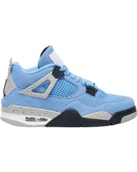 Nike Retro 4 - Basketball Shoes - Blue