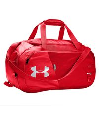 Under Armour Undeniable Small Duffel 4.0 Bag - Red