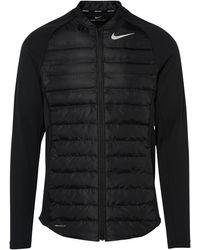 Nike Aeroloft Hyperadapt Zip-up Jacket - Black